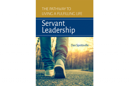"Book cover design for ""Servant Leadership"" ebook design and conversion project"