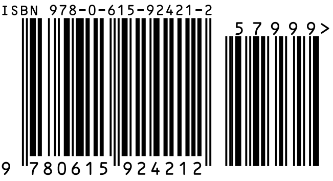 ISBN number with barcode, self-publishers guide to ISBNs