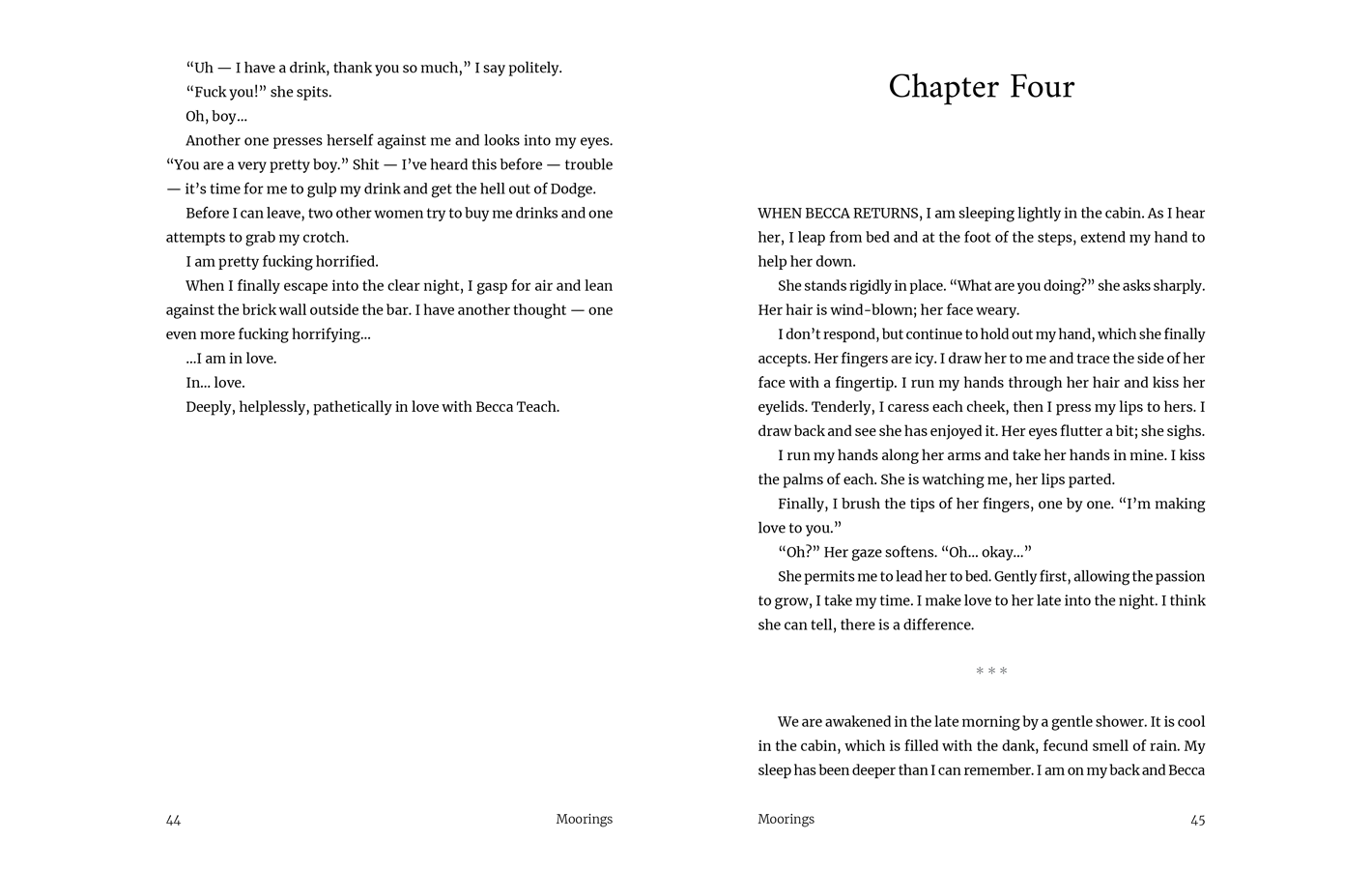 Chapter Four for Moorings