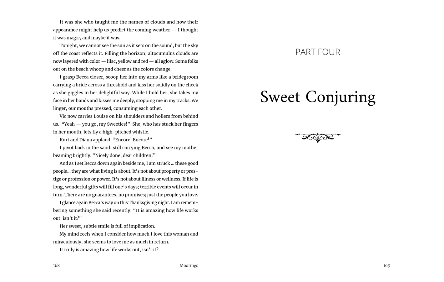 Part Four - Sweet Conjuring for Moorings