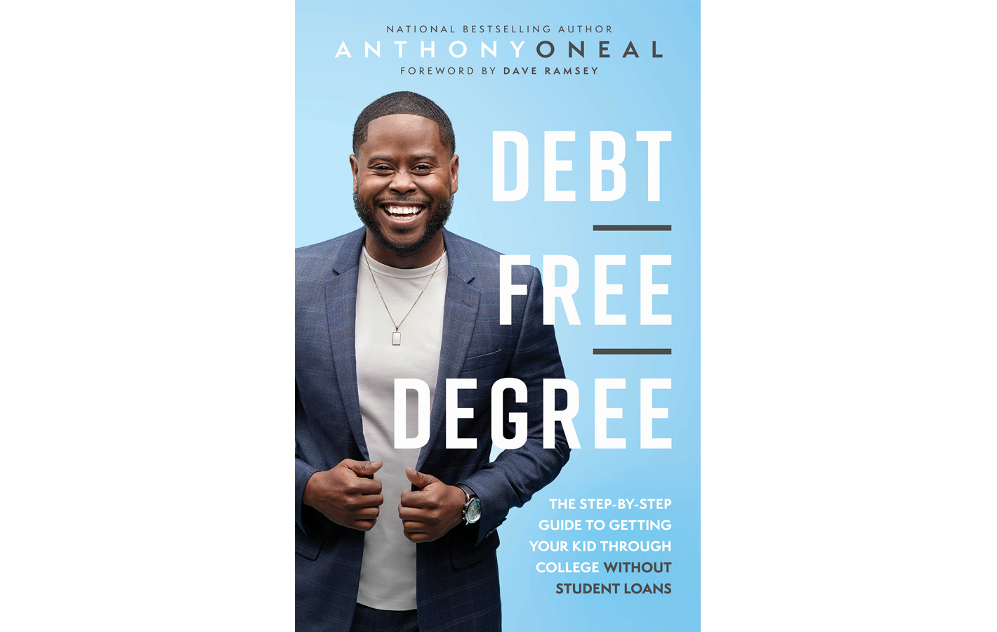 Cover for Debt Free Degree book