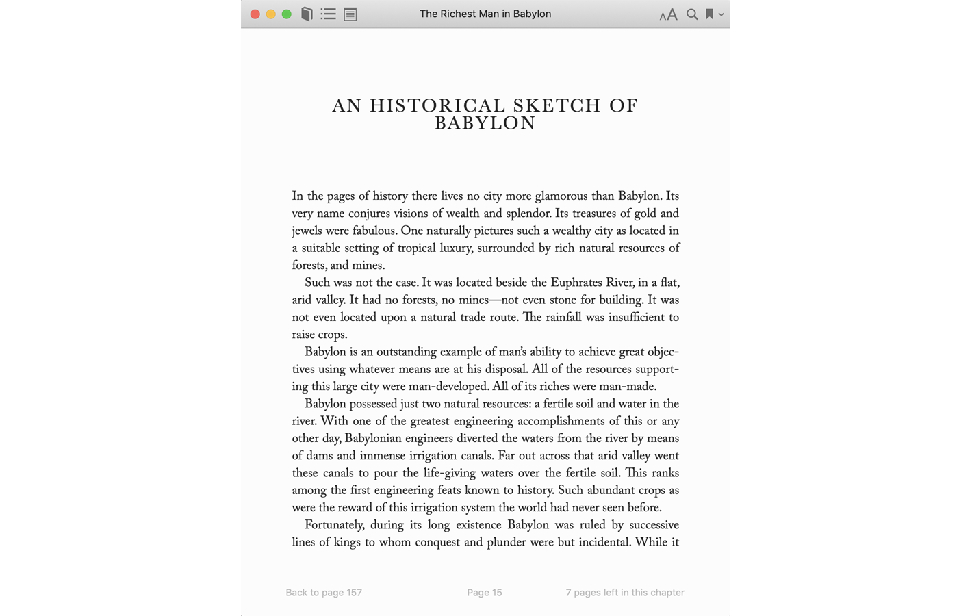 Page 15 for The Richest Man in Babylon